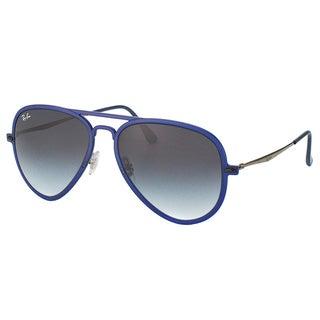 Ray-Ban Unisex Tech RB 4211 Light Ray Aviator II 895/8G Sunglasses