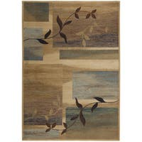 Rizzy Home Bellevue Collection Power-loomed Accent Rug - 6'7 x 9'6