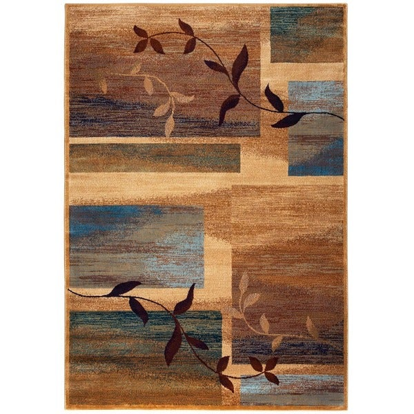 Rizzy Home Bellevue Collection Power-loomed Accent Rug (6'7 x 9'6)