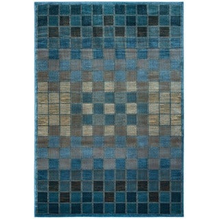 Rizzy Home Bellevue Collection Power-loomed Accent Rug (9'2 x 12'6) - 9'2 x 12'6