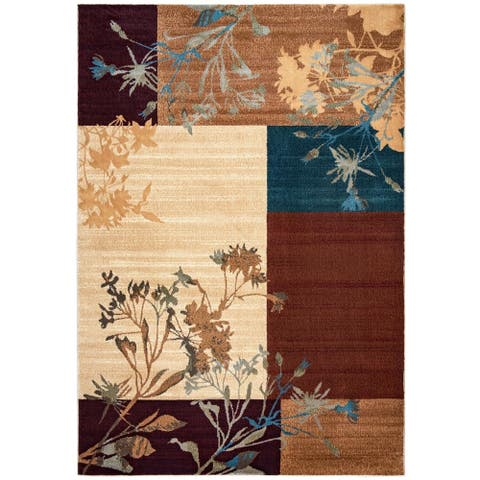 "Rizzy Home Bellevue Collection Power-loomed Accent Rug (6'7 x 9'6) - 6'7"" x 9'6"""