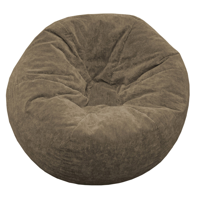 Sueded Corduroy Bean Bag Chair