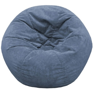 Gold Medal Adult Sueded Corduroy Bean Bag Chair