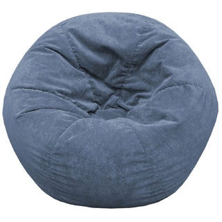 Gold Medal Adult Sueded Corduroy Bean Bag Chair (5 options available)