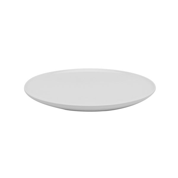 Every Time White 9.75-inch Coupe Pasta Plates (Set of 6)