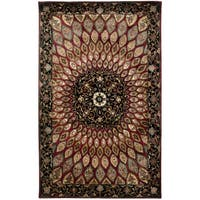 Rizzy Home Shine Collection Hand-tufted Accent Rug (8' x 10')
