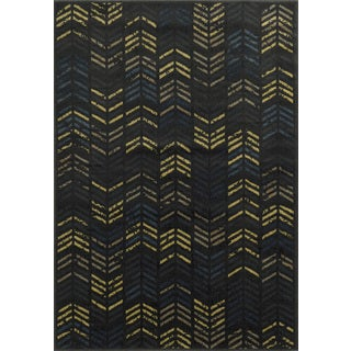 """Rizzy Home Sorrento Collection Power-loomed Accent Rug (6'7 x 9'6) - 6'7"""" x 9'6"""""""