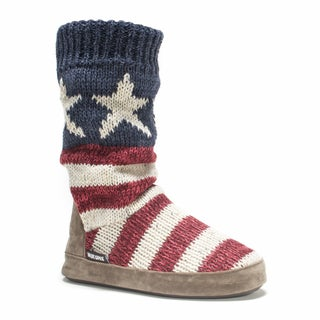 Muk Luks Women's Stars/ Stripes Vanessa Slipper