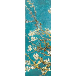 Portfolio Canvas Decor Van Gogh 'Almond Blossom Panel I' Framed Canvas Wall Art (Set of 2)