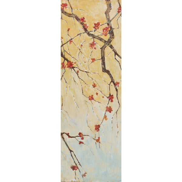 Portfolio Canvas Decor Elinor Luna 'Blossom Panel I' Framed Canvas Wall Art (Set of 2)