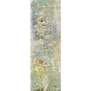 Portfolio Canvas Decor Douglas 'Garden Haiku I' Framed Canvas Wall Art (Set of 2)