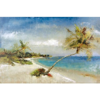 Portfolio Canvas Decor Carney 'Paradise' Framed Canvas Wall Art