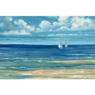 Portfolio Canvas Decor Paul Brent 'Summerset Sailboats' Framed Canvas Wall Art