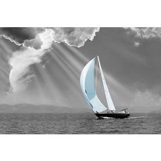 Portfolio Canvas Decor Monte Nagler 'Sunbeam Sail' Framed Canvas Wall Art