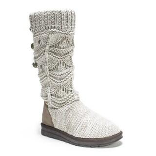 Muk Luks Women's Natural Jamie Boot