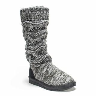 Link to Muk Luks Women's Grey Jamie Boot Similar Items in Women's Shoes