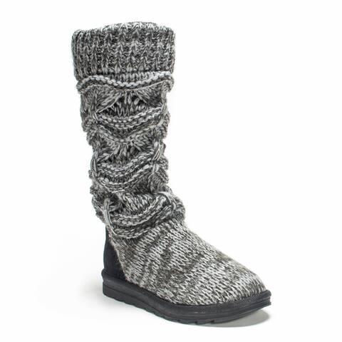Muk Luks Women's Grey Jamie Boot