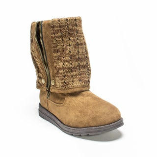 Muk Luks Women's Chestnut Demi Boot