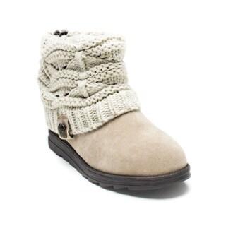 Muk Luks Women's Light Beige Patti Boot