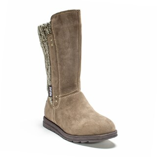 Muk Luks Women's Light Brown Stacy Boot