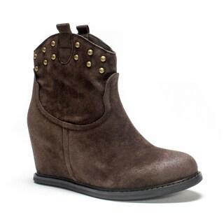 Muk Luks Women's Brown Talia Boot