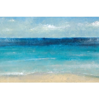 Portfolio Canvas Decor Carney 'Cote D'Azure' Framed Canvas Wall Art