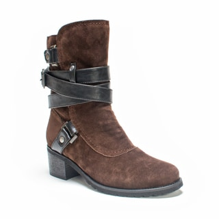 Muk Luks Women's Brown Sabra Boot