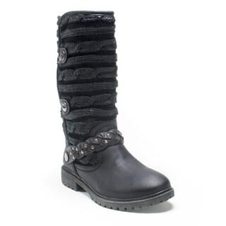 Muk Luks Women's Black Gayle Boot