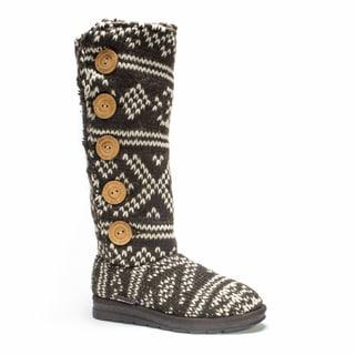 Muk Luks Women's Brown Malena Boot