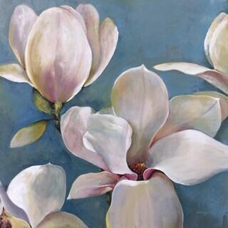 Portfolio Canvas Decor Georgie 'New Magnolias I' Framed Canvas Wall Art