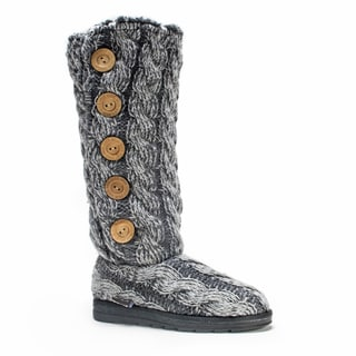 Muk Luks Women's Grey Malena Boot