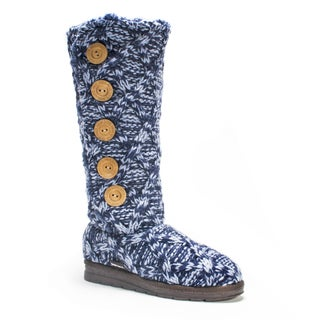 Muk Luks Women's Navy Malena Boot