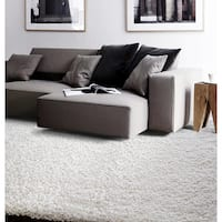 """Luxe Natural Shag Rug (7'10"""" x 10'4"""")"""