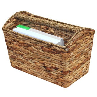 Woven Seagrass Magazine Holder