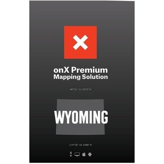 HUNT Wyoming by onXmaps Public/ Private Land Ownership 24k Topo Maps for Garmin GPS, Smartphone, and Computer