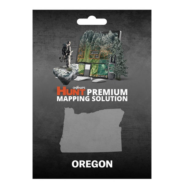 onX Hunt Oregon: Public/Private Land Ownership 24k Topo Maps for Garmin GPS Units for Smartphone and Compu