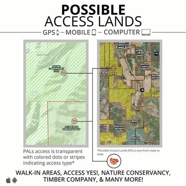 Shop HUNT Arizona by onXmaps - Public/Private Land Ownership ...