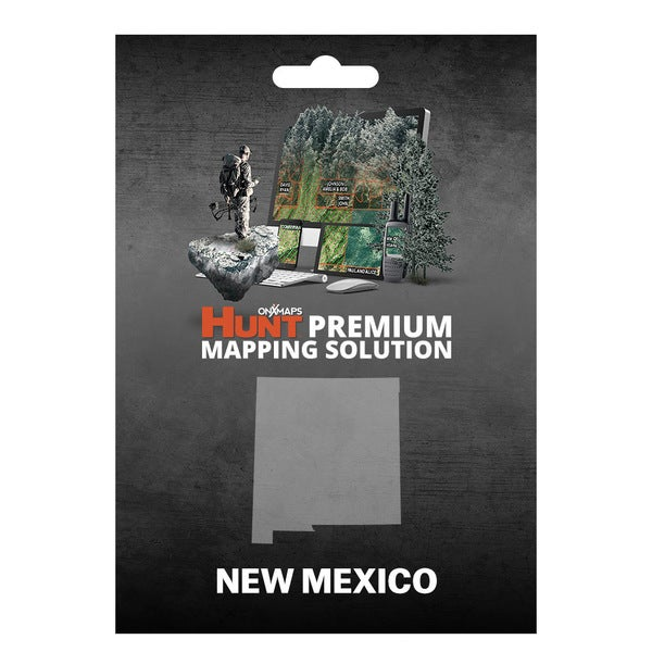 Shop onX Hunt New Mexico: Public/ Private Land Ownership 24k Topo
