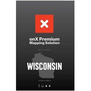 HUNT Wisconsin by onXmaps - Public/Private Land Ownership 24k Topo Maps for Garmin GPS Units for Smartphone and Computer