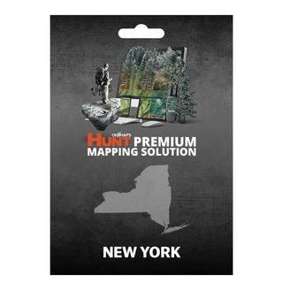 HUNT New York by onXmaps Public/ Private Land Ownership 24k Topo Maps for Garmin GPS, Smartphone and Computer