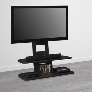 Avenue Greene Crossfield 65-inch Black TV Stand with Mount