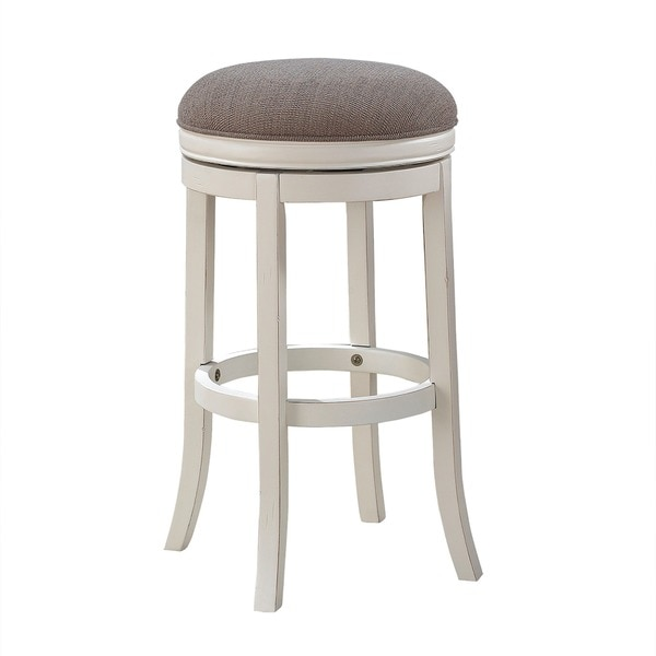 "Pesaro 26-inch Backless Counter Stool by Greyson Living - 18""W x 18""D x 26""H. Opens flyout."