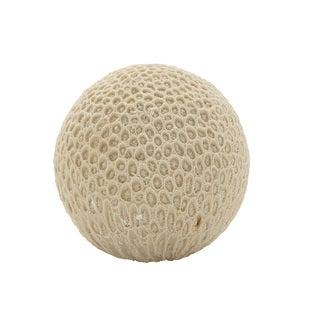 5-inch Coral Ball Decor
