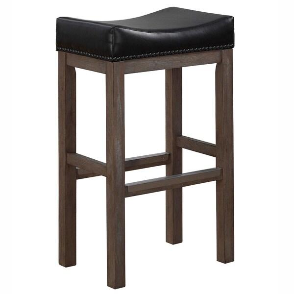 Napoli 30 Inch Saddle Seat Bar Stool By Greyson Living