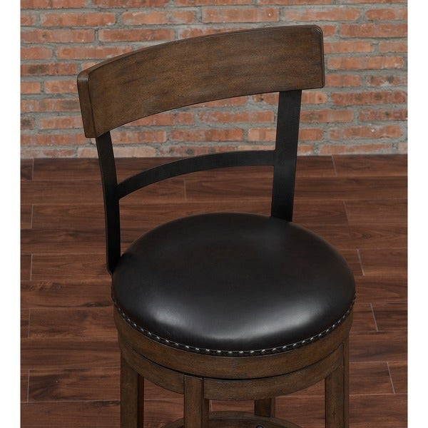 Siena 26-inch Swivel Counter Stool by Greyson Living - Free Shipping Today - Overstock.com - 17501282 & Siena 26-inch Swivel Counter Stool by Greyson Living - Free ... islam-shia.org