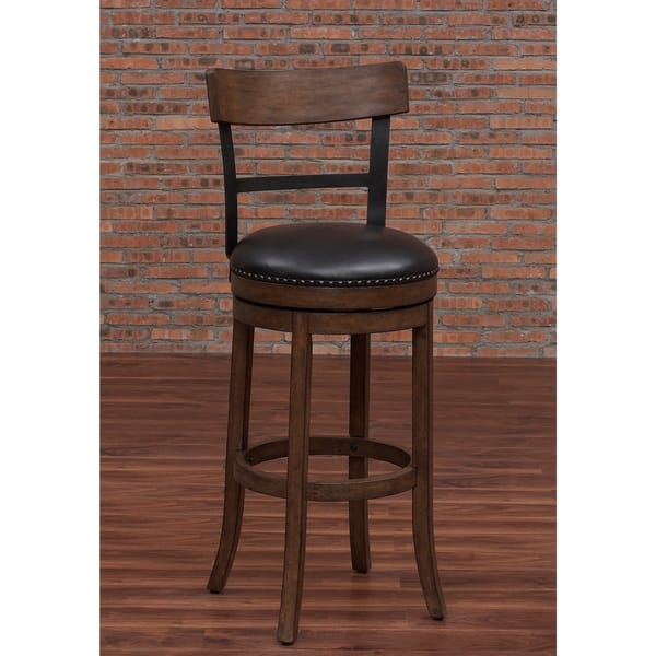 Siena 34 Inch Swivel Tall Bar Stool By Greyson Living Overstock 10398872