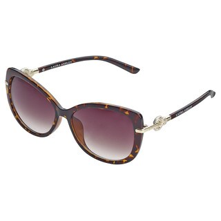 Laura Ashley Crystal O Link Temple Sunglasses
