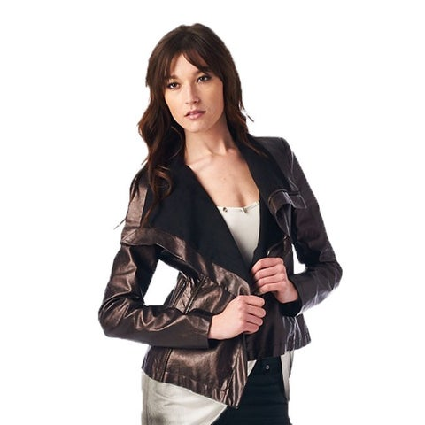 TOV Women's Brown Luxury Jacket
