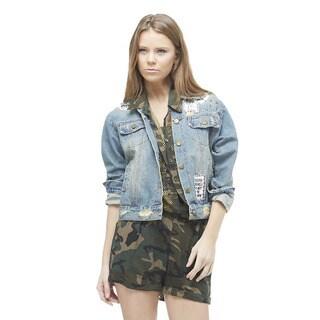 TOV Women's Vintage Jean Jacket