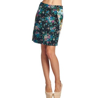 TOV Women's Floral Pencil Skirt